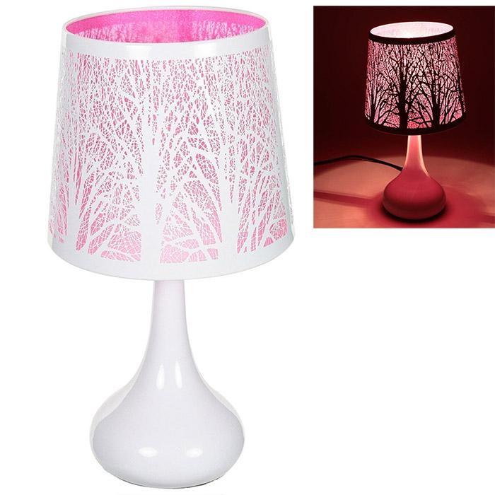 lampe tactile touch avec motifs papillons ou arbres. Black Bedroom Furniture Sets. Home Design Ideas