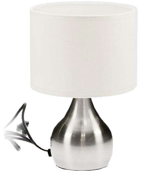 grande lampe sensitive touch m tal 31 cm. Black Bedroom Furniture Sets. Home Design Ideas