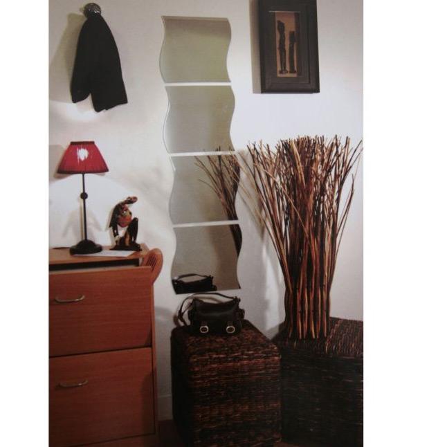 miroirs vague 4 miroirs en forme de vague. Black Bedroom Furniture Sets. Home Design Ideas