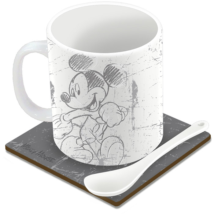 Mug mickey mouse avec sous tasse et cuill re - Jeux de cuisine de mickey ...