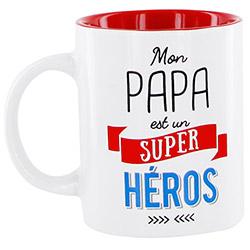 Mug Papa - Mon Papa est un Super Héros