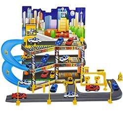 Grand Circuit de voiture Garage City