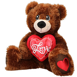 Grand Ours en Peluche Love 33 cm