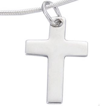 Bijoux homme croix argent