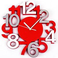 Horloge Murale Silencieuse Design Chiffres