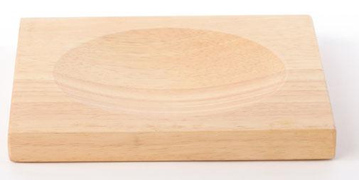 planche d couper en bois et hachoir en acier inoxydable. Black Bedroom Furniture Sets. Home Design Ideas