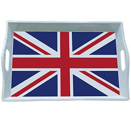 Plateau drapeau anglais plateau repas pour verre assiettes - Ustensile de cuisine anglais ...