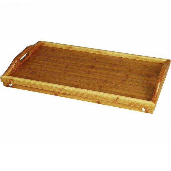 plateau petit d jeuner au lit en bambou tr s r sistant. Black Bedroom Furniture Sets. Home Design Ideas