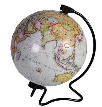 aee75d86f53 Puzzle Globe Terrestre   Réalisez la Terre en 60 pièces