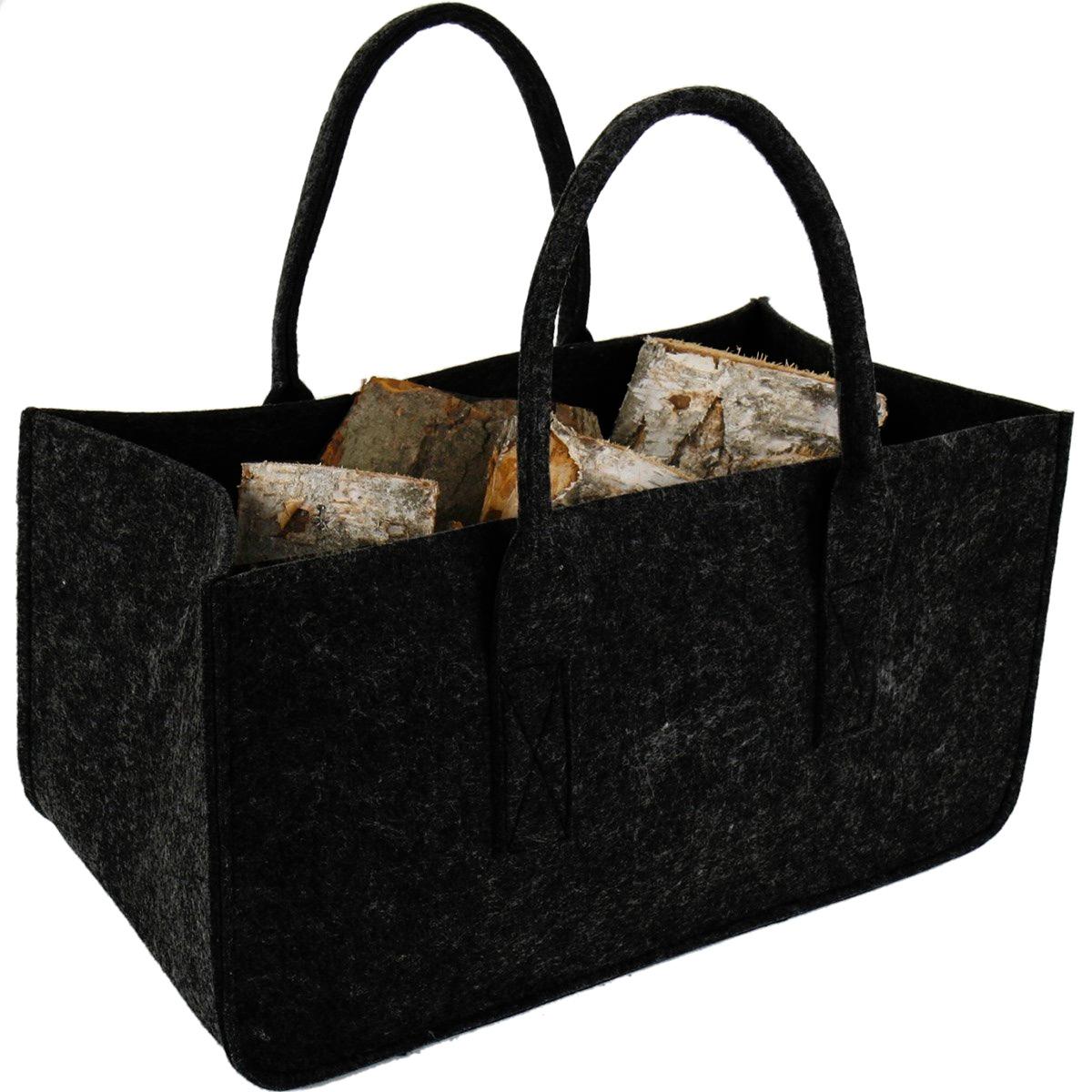 sac buches bois de chauffage chemin e. Black Bedroom Furniture Sets. Home Design Ideas