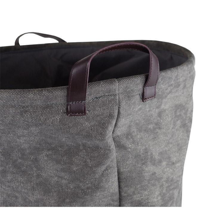 panier linge star gris. Black Bedroom Furniture Sets. Home Design Ideas