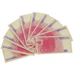 Serviettes en papier 500 euro