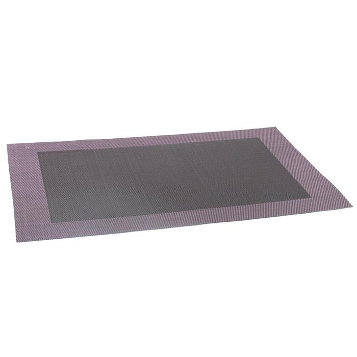 sets de table noir gris parme facilement lavable. Black Bedroom Furniture Sets. Home Design Ideas