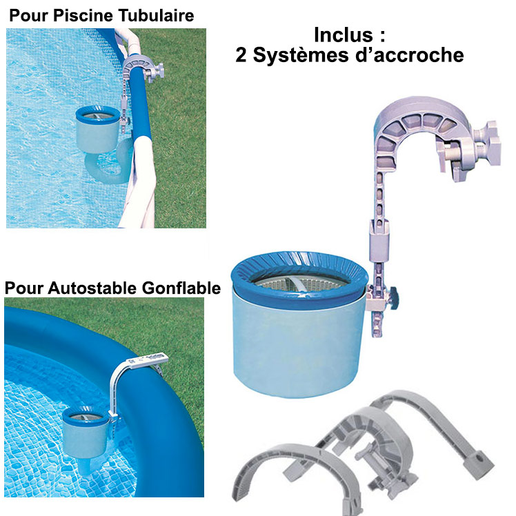 Skimmer deluxe intex piscine hors sol for Aspirateur piscine skimmer