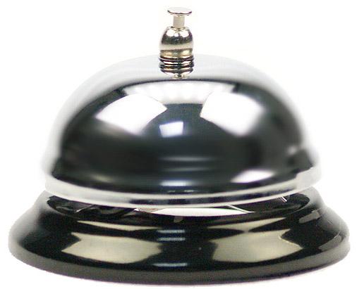 sonnette de comptoir pour accueil ou r ception. Black Bedroom Furniture Sets. Home Design Ideas