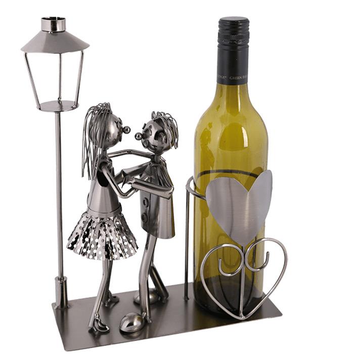 Porte bouteille de vin amoureux d coration de table - Porte bouteille de table ...