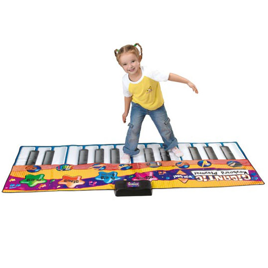 tapis de jeu piano un jeu pour enfant. Black Bedroom Furniture Sets. Home Design Ideas