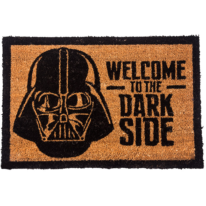 tapis paillasson star wars dark side pour porte d 39 entr e. Black Bedroom Furniture Sets. Home Design Ideas