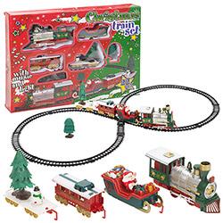Train électrique de Noël - 22 pièces