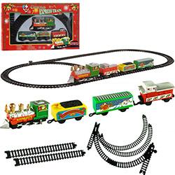 Train électrique de Noël - 9 pièces