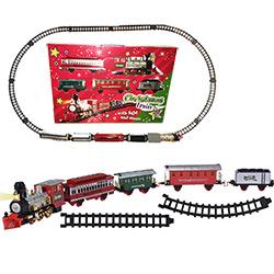 Grand Train Electrique de Noël XXL - 400 cm