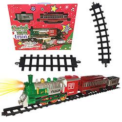 Grand Train Electrique de Noël 23 Pièces