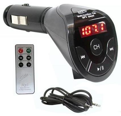 transmetteur radio fm de voiture pour cd mp3 cl usb. Black Bedroom Furniture Sets. Home Design Ideas