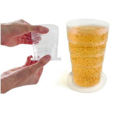Pinte bi re pliable - Pinte de biere en ml ...