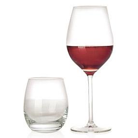 verres vin et verres eau set 8 pi ces. Black Bedroom Furniture Sets. Home Design Ideas
